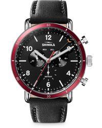 Shinola Canfield Sport Chronograph - Black
