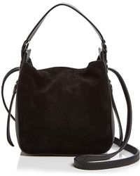 Kendall + Kylie - Kendall And Kylie Molly Mini Suede Crossbody - Lyst