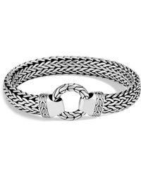 John Hardy Men's Classic Chain Sterling Silver Bracelet - Metallic