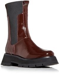 3.1 Phillip Lim Women's Kate Platform Combat Boots - Brown