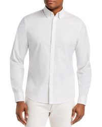 Michael Kors - Mini - Dot Stretch Slim Fit Button - Down Shirt - Lyst