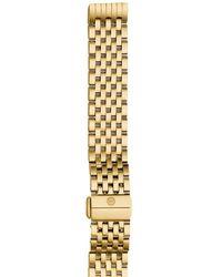 Michele Deco Ii Mid Watch Bracelet - Metallic