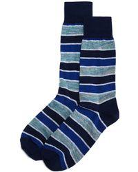 Bloomingdale's - Rugby Stripes Socks - Lyst