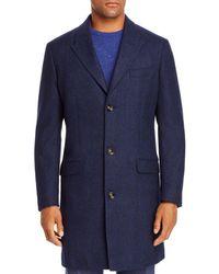 Robert Graham Twill Classic Fit Coat - Blue