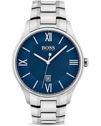 BOSS - Hugo Boss Governor Watch, 44mm - Lyst