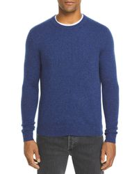 Bloomingdale's The Store At Bloomingdale's Cashmere Crewneck Sweater - Blue