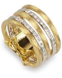 Marco Bicego - Diamond Jaipur Link 5-strand Band Ring - Lyst