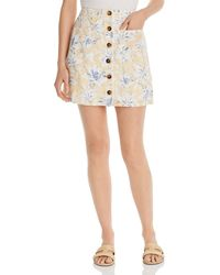 Lost + Wander - Luci Floral - Print Mini Skirt - Lyst