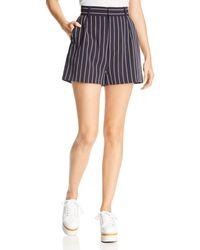 BB Dakota - Power Stripe Shorts - Lyst