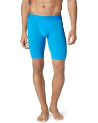 Tommy John Air Stretch Mesh Boxer Briefs - Blue