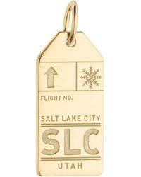 Jet Set Candy | Slc Salt Lake City Luggage Tag Charm | Lyst