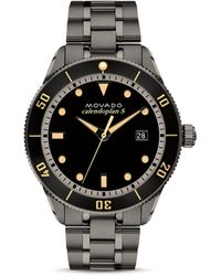 Movado Heritage Series Calendoplan Watch - Black