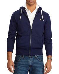 Polo Ralph Lauren - Classic Full - Zip Fleece Hoodie - Lyst