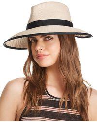 Eric Javits Sun Crest Packable Hat - Black
