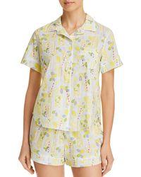 Jane & Bleecker New York - Lemonade Short Pajama Set - Lyst