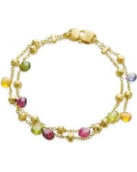 "Marco Bicego - ""paradise Collection"" Two Strand Gold Bracelet - Lyst"