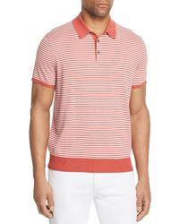 Michael Kors - Striped Banded Polo Shirt - Lyst