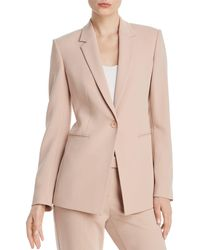 Theory - Admiral Crepe Power Blazer - Lyst