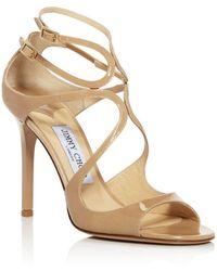 Jimmy Choo Women's Lang 100 High - Heel Sandals - Multicolour