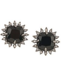 Carolee - Cushion Clip-on Earrings - Lyst