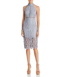 Bardot - Gemma Dress (dusty Blue) Women's Dress - Lyst