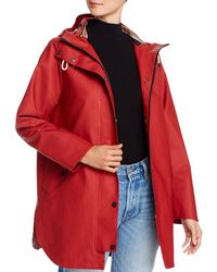 Pendleton Newport Slicker Raincoat - Red