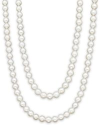 Bloomingdale's Cultured Freshwater Pearl Strand Necklace - Multicolour
