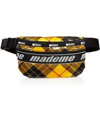 LeSportsac X Made Me Plaid Belt Bag - Black