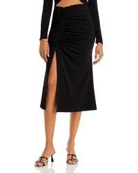 Cinq À Sept Stella Midi Skirt - Black