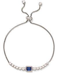 Nadri - Zelda Bolo Adjustable Bracelet - Lyst