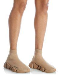 Balenciaga - Speed 2.0 Knit High Top Sock Sneakers - Lyst