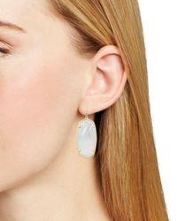 Kendra Scott Faceted Elle Drop Earrings - Multicolour