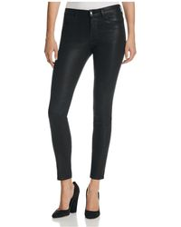 J Brand - Mid Rise Super Skinny Jeans In Fearless - Lyst