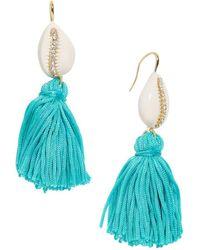 BaubleBar - Tahiti Tassel Earrings - Lyst