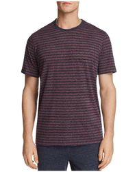 Daniel Buchler - Striped Lounge Short Sleeve Tee - Lyst