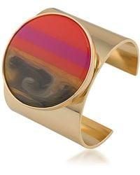 Trina Turk Disc Cuff Bracelet - Multicolour