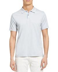 Theory Regular Fit Polo Shirt - Blue