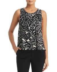 Three Dots - Pom-pom-trimmed Top - Lyst