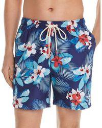 Tommy Bahama Naples Monterosso Beach Swim Trunks - Blue