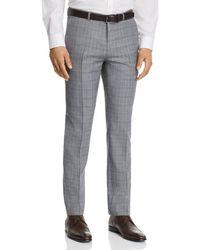 HUGO - Hets Slim Fit Tonal Plaid Suit Pants - Lyst