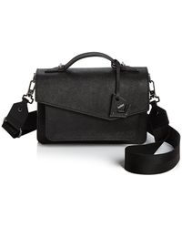 Botkier Cobble Hill Leather Crossbody - Black