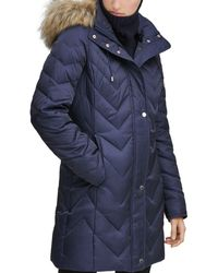 Marc New York - Roxbury Matte Satin Puffer Coat - Lyst
