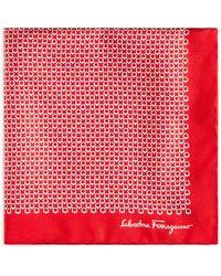 Ferragamo - Gancini Pocket Square - Lyst