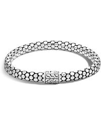 John Hardy - Sterling Silver Dot Small Chain Bracelet - Lyst