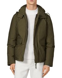 Sandro Down Puffer Jacket - Green
