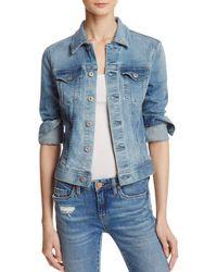 AG Jeans Robyn Denim Jacket In Streamside - Blue