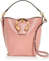 Jimmy Choo Madeline Leather Bucket Bag - Multicolour