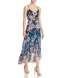 Nanette Nanette Lepore - Ombré Floral High/low Dress - Lyst