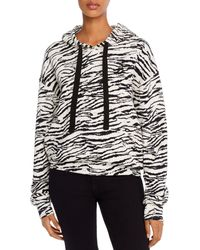 Pam & Gela - Tiger Hooded Sweatshirt - Lyst