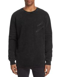 NANA JUDY Unite Crewneck Sweatshirt - Black